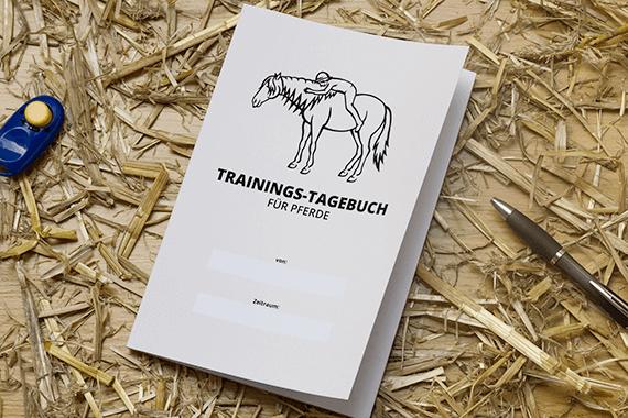 Trainingsbuch für Pferde: Positives Training mit deinem Pferd festhalten und verbessern