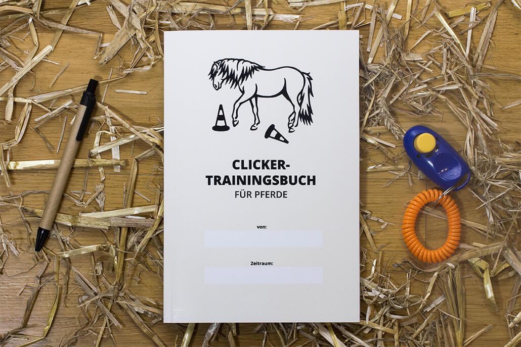 clickertraining trainingsbuch f r pferde ponystoff. Black Bedroom Furniture Sets. Home Design Ideas